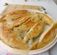 三鲜大锅贴的做法