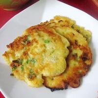 土豆青椒蛋饼的做法