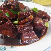 蚝油豆干烧肉的做法