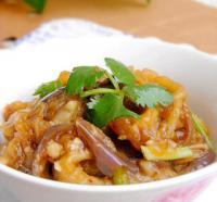 下饭菜:辣味拌茄泥的做法