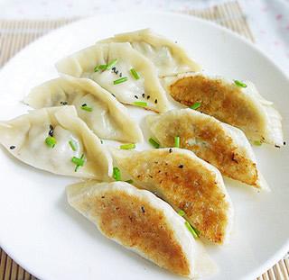 梅香煎饺的做法