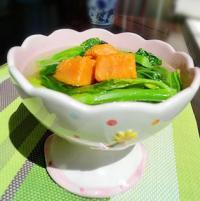 番薯芥菜汤的做法