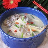 萝卜丝小黄鱼汤的做法