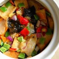 腊味砂锅豆腐的做法
