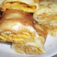 土豆肉松蛋饼的做法
