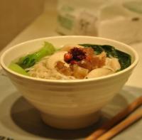 青菜菌菇牛筋汤面的做法