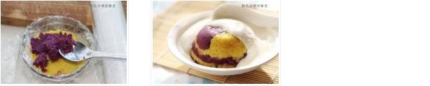 酸奶双色薯泥的做法图文步骤