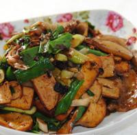 豆腐干炒回锅肉的做法