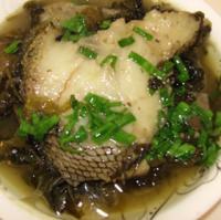 酸菜鳕鱼的做法