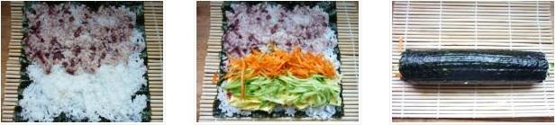 午餐便当:紫菜包饭的做法图文步骤