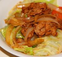 时蔬小炒肉的做法
