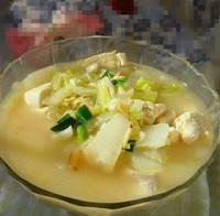 虾皮白菜烩豆腐的做法