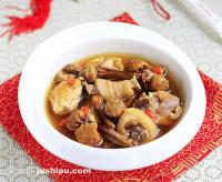 姬松茸炖土鸡的做法
