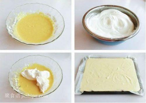 夏日清新小蛋糕 酸奶蛋糕的做法 jushipu.com