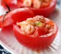 虾仁番茄盅的做法