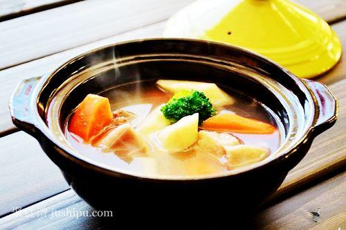 冬季滋补汤 羊排山药汤的做法