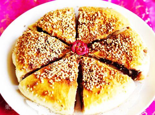 金黄大饼的做法 jushipu.com
