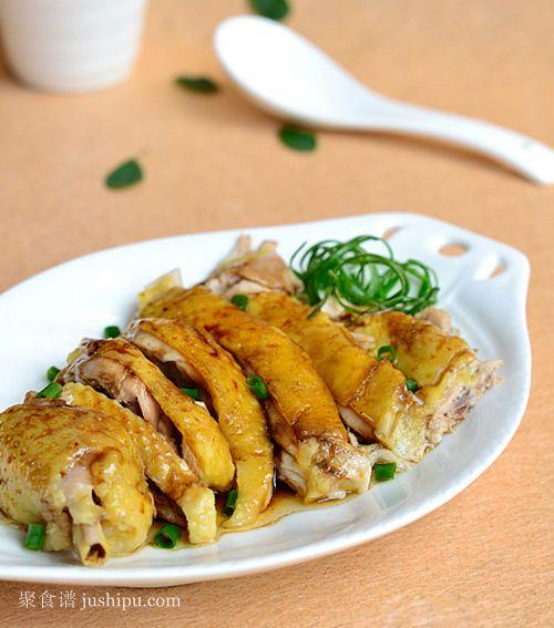 皮香肉滑的葱油鸡的做法