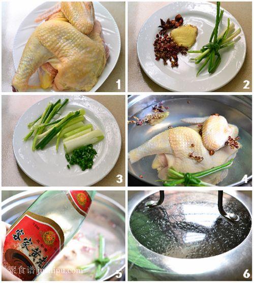 皮香肉滑的葱油鸡的做法 jushipu.com