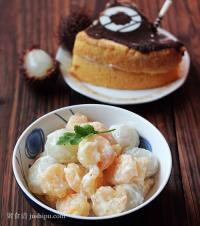 营养凉菜 果球虾仁沙拉的做法