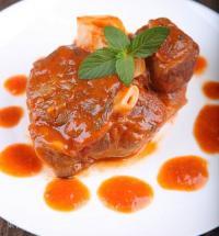 茄汁薄荷炖小牛腱的做法