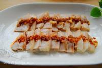 宴客荤菜 蒜泥白肉的做法