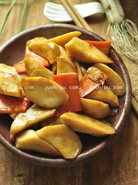 家常菜 蚝油杏鲍菇的做法