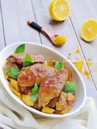 土豆咖喱鸡翅的做法