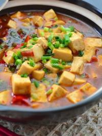 家常菜鱼香豆腐的做法