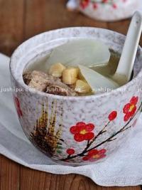 萝卜干贝猪骨汤的做法
