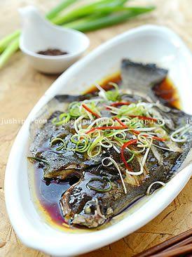 美食天下清蒸比目鱼的做法