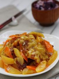 黄桃锅包肉的做法