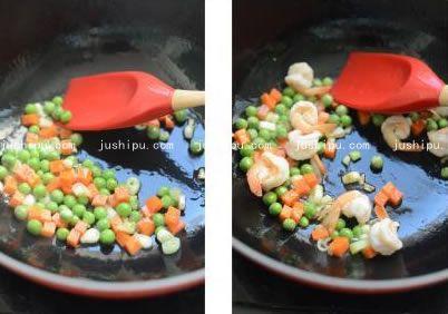 虾球烩豆腐的做法 jushipu.com