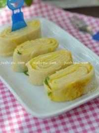 家常菜 葱香鸡蛋饼的做法