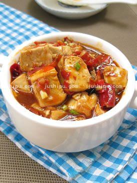 简版麻婆豆腐的做法