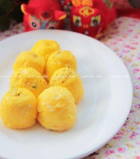 美味蛋球的做法 jushipu.com