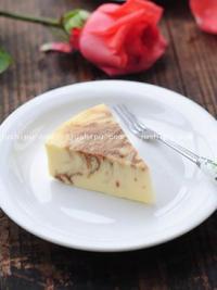 咖啡大理石乳酪蛋糕的做法