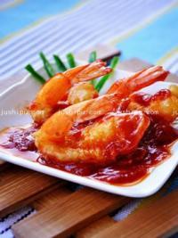 家常菜琵琶虾的做法