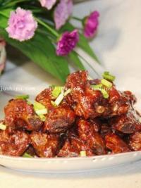 宴客荤菜  糖醋排骨的做法