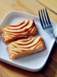 奶油苹果派的做法