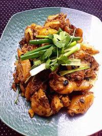 荤菜 豆豉鸡的做法