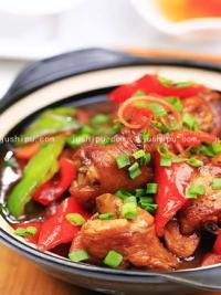 家常菜 豆瓣酱烧鲜鸡的做法