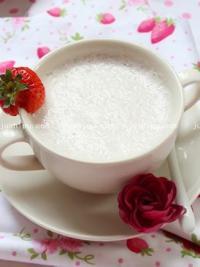 美食天下饮品 火龙果草莓奶昔的做法
