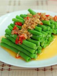 腐汁豇豆的做法