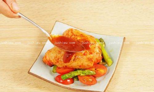 甜辣鸡翅的做法 jushipu.com