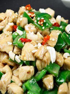 美食天下下饭菜 蚝油青椒鸡丁的做法