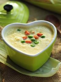 玉米火腿青豆浓汤的做法