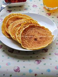 简单早餐 玉米饼的做法