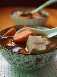 小点心 姜汁番薯芋头糖水的做法