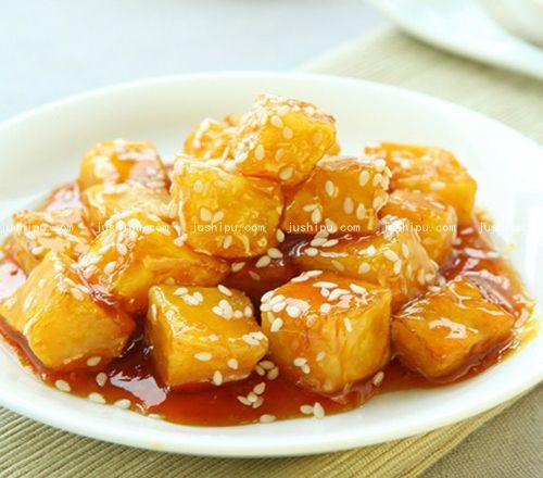 蜜烧红薯的做法 jushipu.com